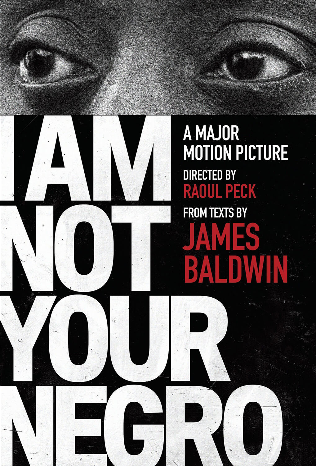 CFF - I am Not Your Negro-Poster